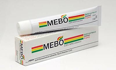 MEBO burn & Wound Healing Ointment Cream Herbal Natural No Marks 15g UK Shipping