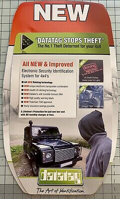 Datatag 4x4's Electronic Security Identification System