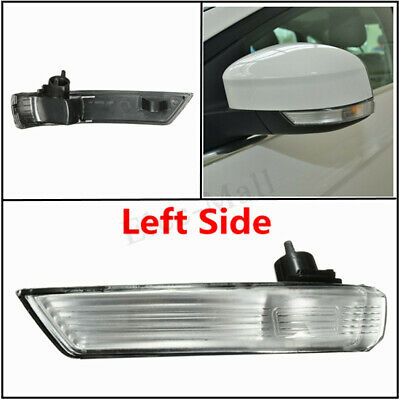 For Ford Focus 2008-2016 Left Wing Mirror Indicator Lens Turn Signal Light Frame