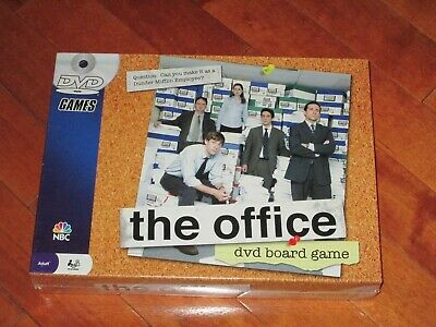 The Office DVD Board Game 2008 Pressman New Sealed