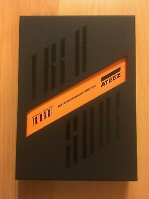 ATEEZ 1st Anniversary EP. FIN All To Action Album + POSTER [no solo pcs] / AS IS