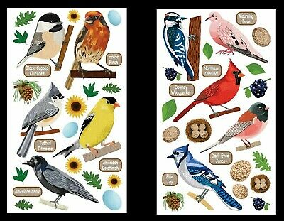 DOVE STICKERS 30 Labels Tags Seals Love Peace Friend Bird Family Nature Art