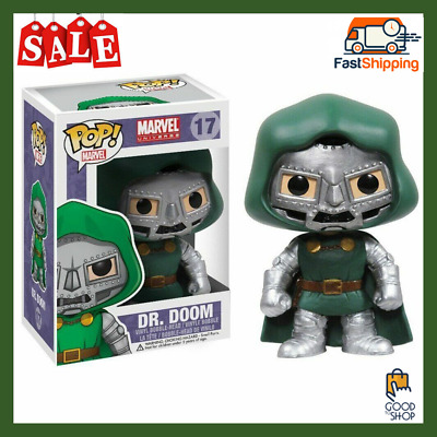 Funko POP Marvel Bobble Figure, Dr. Doom Figure Collection