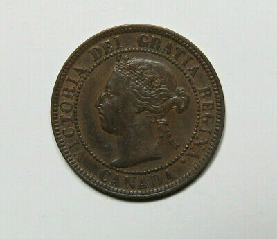 1899 Canada Large Cent Foreign Coin