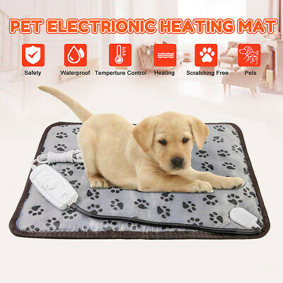 Pet Heating Pad Dog Cat Electric Heated Pad Mat Waterproof Warmer Blanket Mat