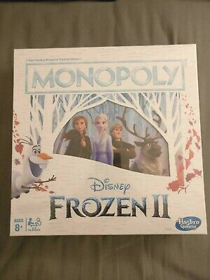 Monopoly Disney Frozen 2 Edition Board Game: Brand New Factory Sealed In Box