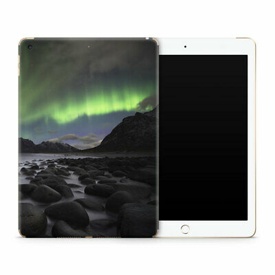 Aurora Rocks Premium Vinyl Skin Sticker Decal to Cover Back and Sides of iPad