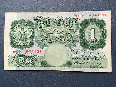 £1 Bank Note Catterns 1929-34