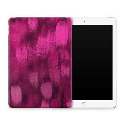 Brushed Pink Premium Vinyl Skin Sticker Decal to Cover Back and Sides of iPad