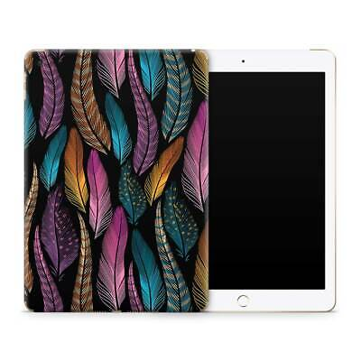 Feather Pattern Premium Vinyl Skin Sticker Decal to Cover Back andSides of iPad