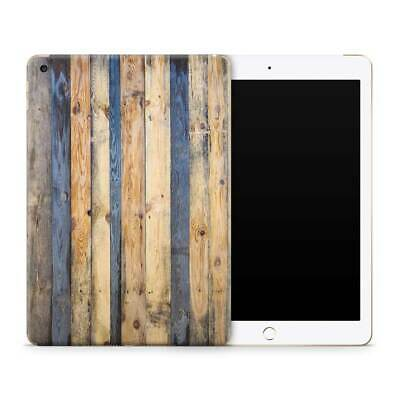 Colonial Wood Panels Vinyl Skin Sticker Decal to Cover Back and Sides of iPad