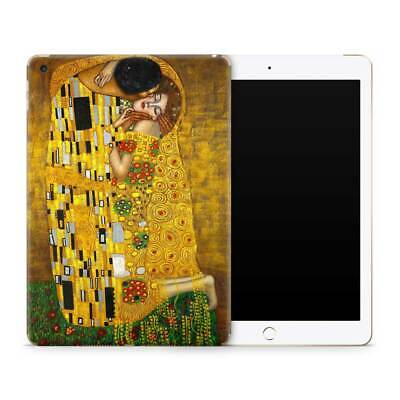 Klimt The Kiss Premium Vinyl Skin Sticker Decal to Cover Back and Sides of iPad