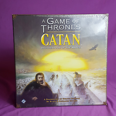 Game of Thrones Catan Brotherhood of the Watch Strategy Board Game New Sealed
