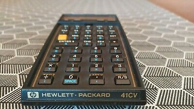 Hp-41cv-Hewlett-Packard-HP-41cv-calculador + Printer