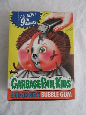 1987 Garbage Pail Kids 9th Series 48 Unopened Packs Nice Condition