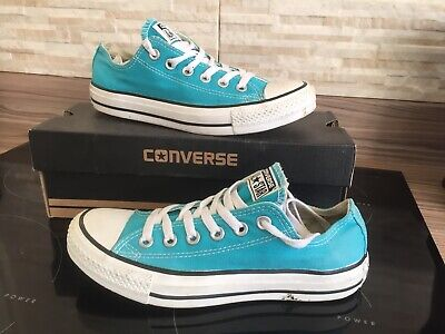 CONVERSE ALL STAR Canvas TRAINERS Ladies Girls Uk 4.5 Eur 37 Worn Twice