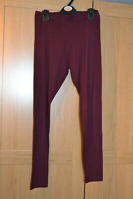 Girls YD @ Primark Leggings in Wine Age 11-12