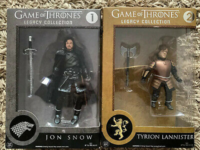 Game of Thrones Funko Legacy Collection Jon Snow & Tyrion Lannister Damaged Box
