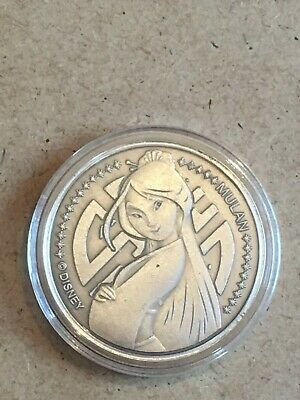 Disney Coin With Case Mulan New (C15)