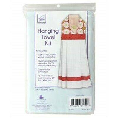 "June Tailor Quilt As You Go Hanging Towel Kit-19"" Long"