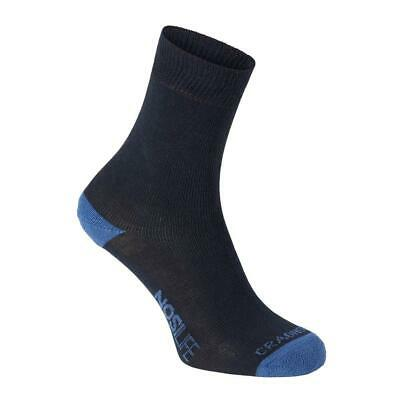 Craghoppers Nosilife Twin Azul T96636/ Calcetines Mujer Azul , Calcetines