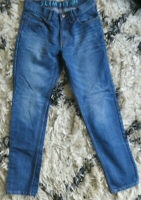 Next Boys Blue Slim Fit Jeans - Size 28R - Excellent Condition