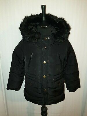 Girls ZARA Down Filled Puffa Jacket Age 6 Years
