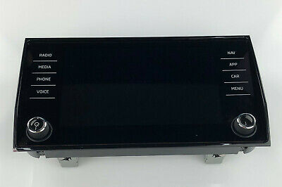 Skoda Karoq-Kodiaq Originale Bedieneinheit Radio Display 565919605B
