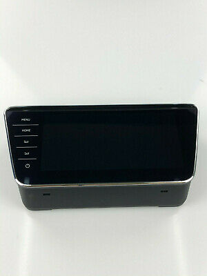 Skoda Superb Originale Bedieneinheit Radio Display 3V0919606D