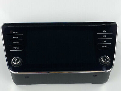 Skoda Superb Originale Bedieneinheit Radio Display 3V0919605D