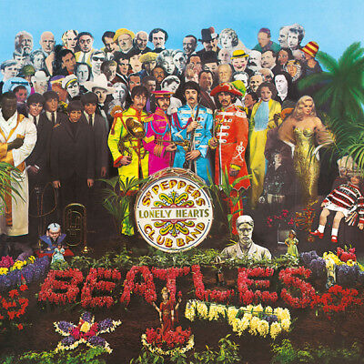 "Beatles "" Sgt Peppers Lonely Hearts Club Band ""180 Gram Vinyl Lp New & Sealed"