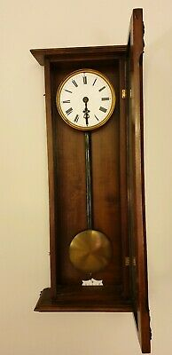 Antique Gustav Becker  Vienna regulator wall clock 1869-1877