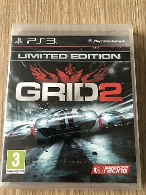 Grid 2 Limited Edition Ps3 Playstation 3 Français Neuf Blister New Sealed Rare