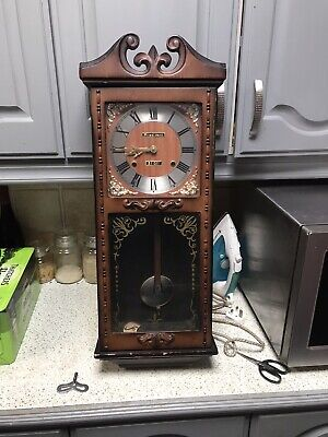 Vintage wind up  President 31 Days Wall Clock  Spares And Repairs