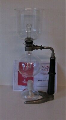 CONA COFFEE MAKER number 2 vintage circa 1960`s ( 568 ml) 1 pint good cond.
