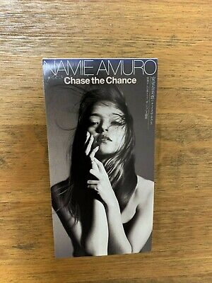 """NAMIE AMURO Chase the Chance 3"""" inch Single CD AVDD-20109"""