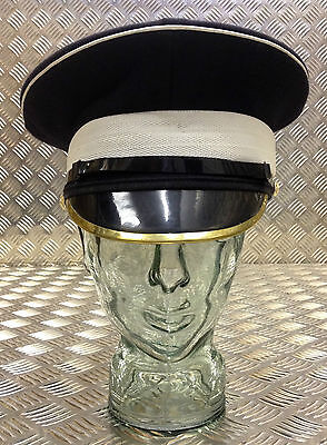 Genuine British Army Coldstream Guards NCO Peaked Cap / Dress Hat - All Sizes