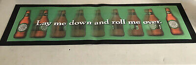 New! Large Coopers Craft Beer Pub Rubber Bottom Rail Bar Mat