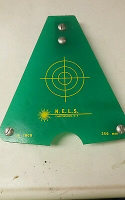 Pipe Laser Target 10 Inch
