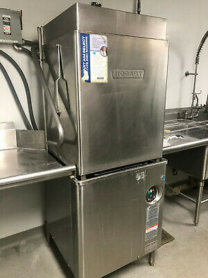 AM15T Hobart High Temp. Dishwasher