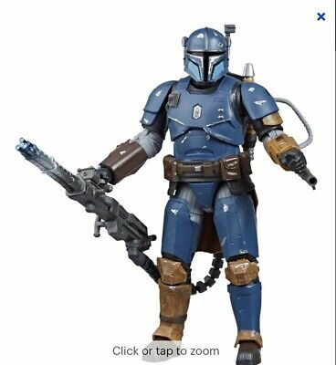 "Star Wars The Black Series Heavy Infantry Mandalorian 6"" Action Figure Hasbro"