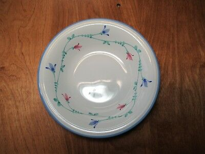 "Savoir Vivre PORTOFINO BLUE JF036 Soup Cereal Bowl 7"" 1 ea  6 available"