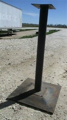 Table Leg Base, Industrial Age, Kitchen Counter Island, Workshop Table a61,