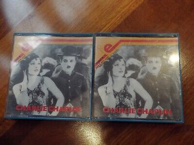 """Super 8 Charlie Chaplain B&W Collectible Movies """"The Petty Thief"""" & """"At The Bank"""
