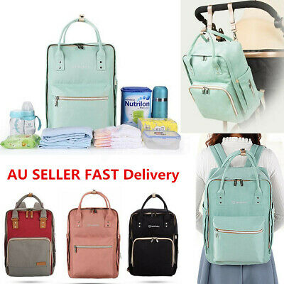 Luxury Large Mother Mummy Maternity Nappy Diaper Bag Baby Travel Backpack Tote