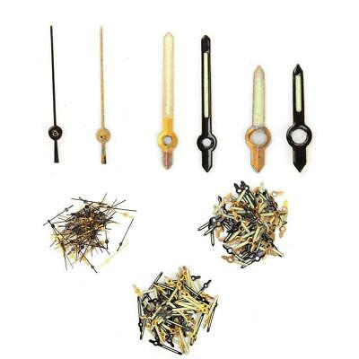 100x Watch Hands Hour Minute Second Needles For 2035 Watch Movement Gold + Black