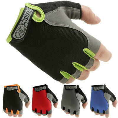 Gym Fitness Grips GEL Gloves Weight Lifting Body Building Cross Training Workout