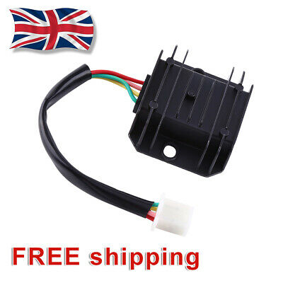 4-Wire Full Wave Motorcycle Regulator Rectifier 12V DC Bike Quad Scooter bs02