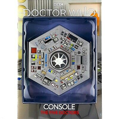 Doctor Who The Five Doctors TARDIS CONSOLE Model FIGURINE Collection Eaglemoss