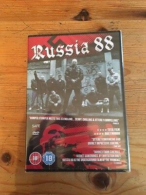 SKINHEAD BRAND NEW Russia 88 Region 2  DVD Romper Stomper Meets This Is England
